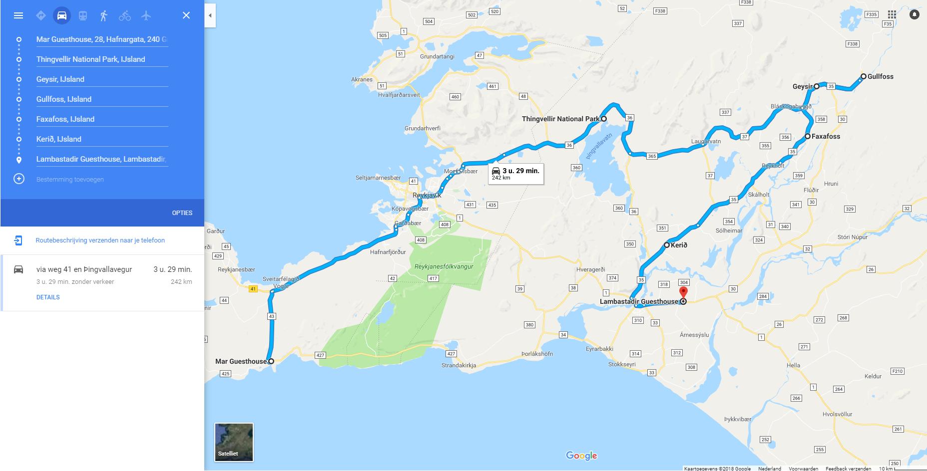 dag 2 route