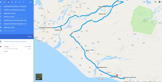 dag 3 route